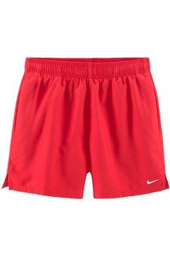 nike zwemshort in eenvoudig design rood
