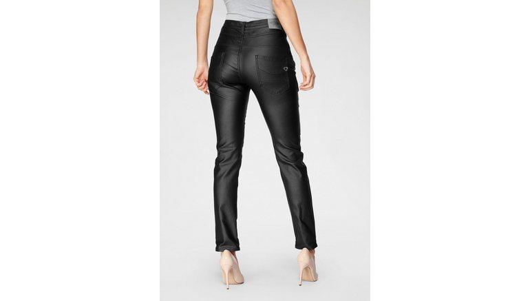 Please Jeans imitatieleren broek »P 78A«