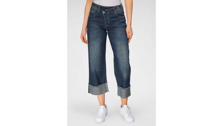Herrlicher high-waist jeans MÄZE in cross-over look