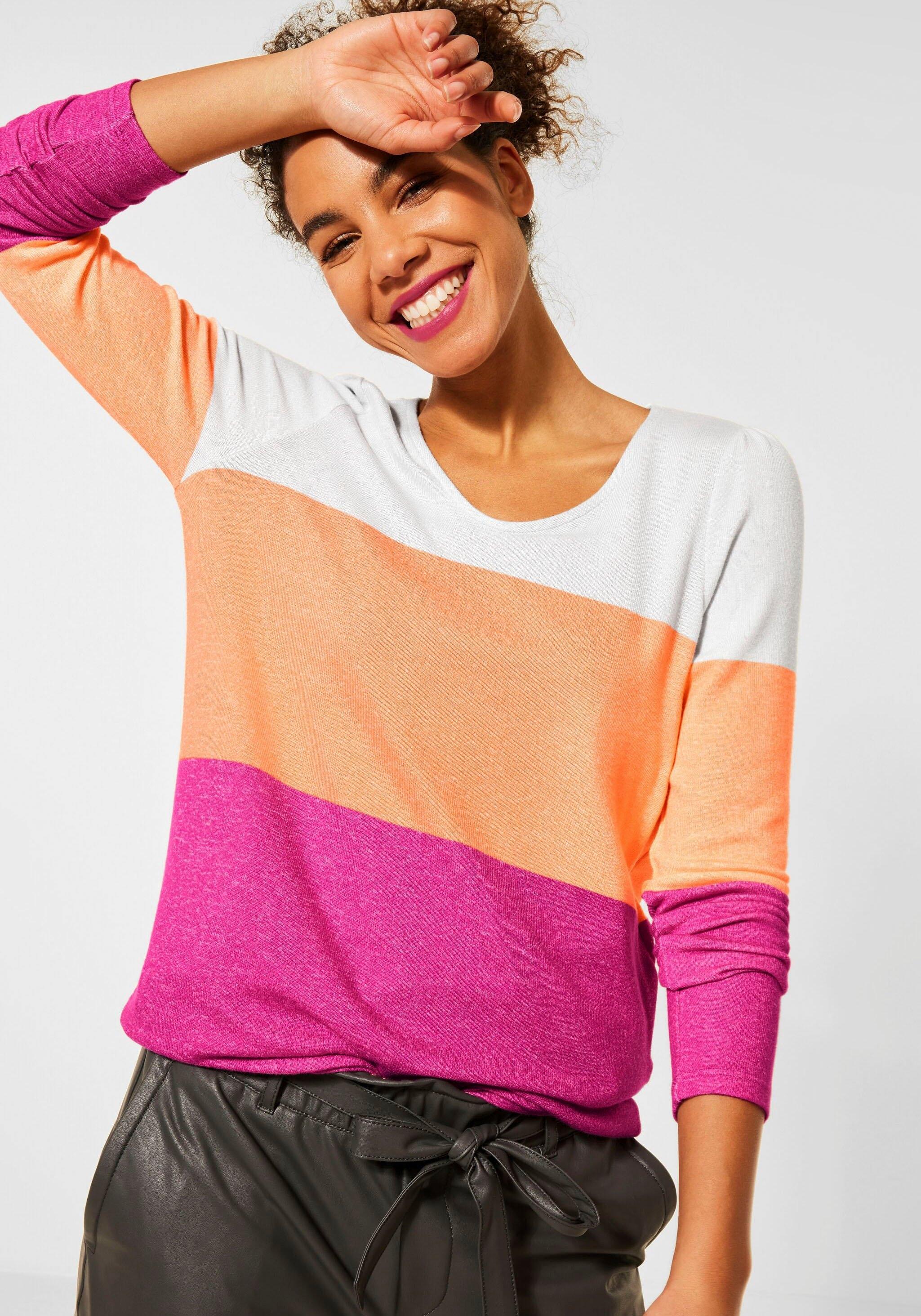 Op zoek naar een STREET ONE shirt met lange mouwen? Koop online bij OTTO