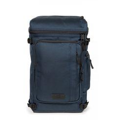 eastpak laptoprugzak tecum top, cnnct navy bevat gerecycled materiaal (global recycled standard) blauw