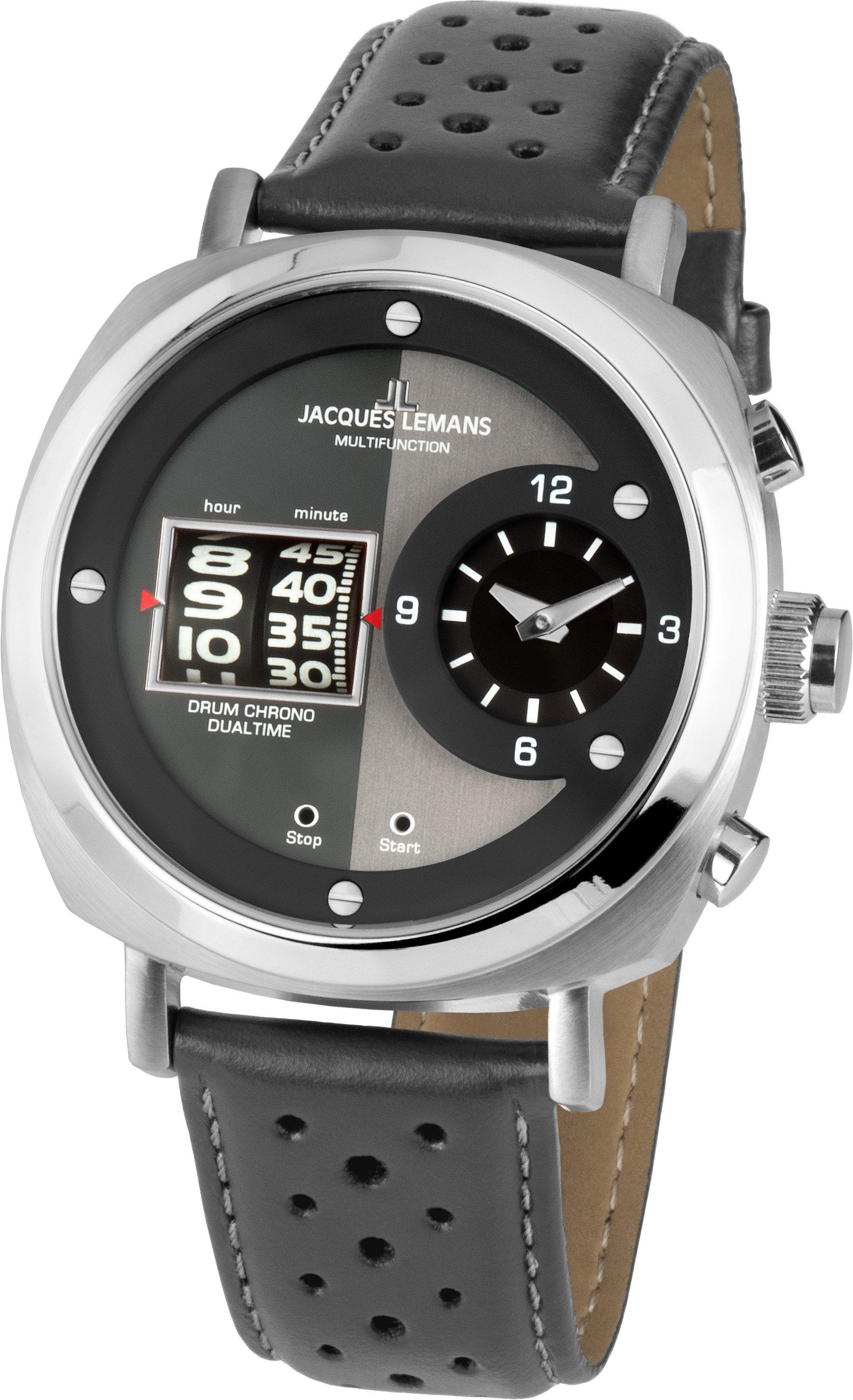 Jacques Lemans chronograaf Lugano, 1-2058A - gratis ruilen op otto.nl