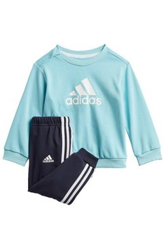 adidas performance joggingpak »badge of sport french terry« blauw