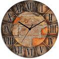 artland wandklok antiek horloge bruin