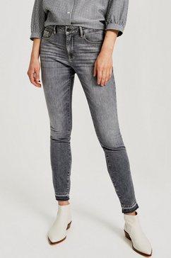 opus stretch jeans »elma« grijs