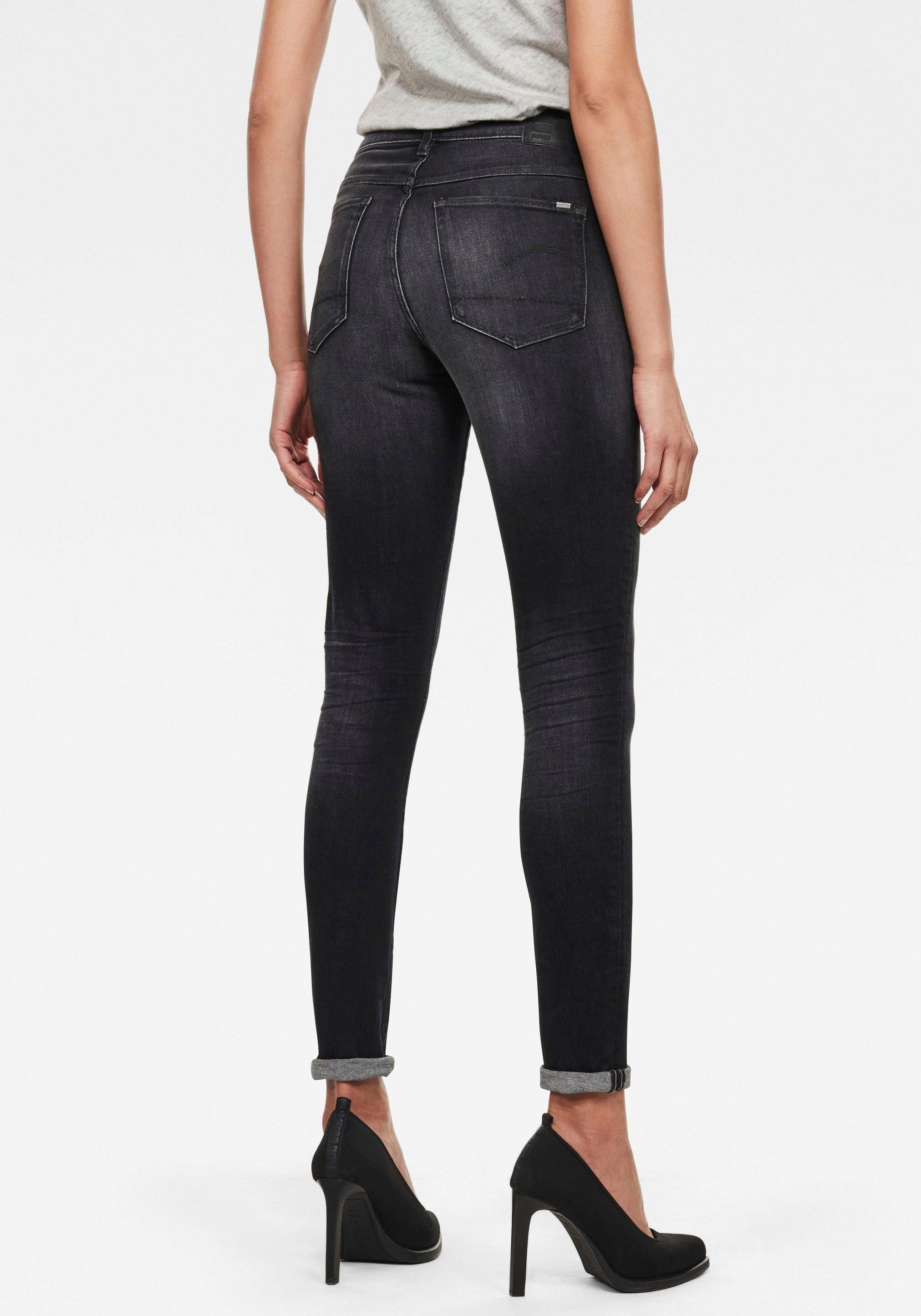 G-Star RAW skinny fit jeans 3301 High Skinny in high-waist-model bij OTTO online kopen