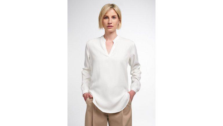 Eterna blouse zonder sluiting MODERN CLASSIC Lange mouwen