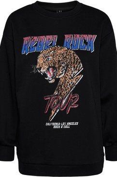 vero moda sweatshirt vmnatalie zwart