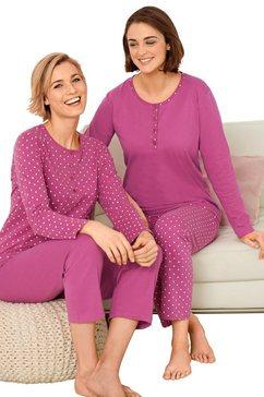 driesen pyjama (set van 2) roze