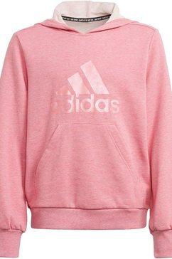 adidas performance hoodie girls batch of sports hoodie roze