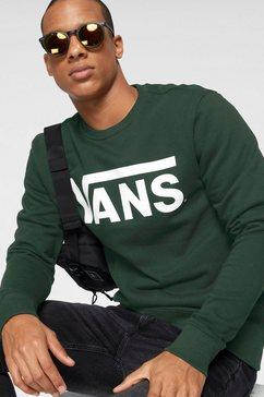 vans sweatshirt vans classic crew ii groen