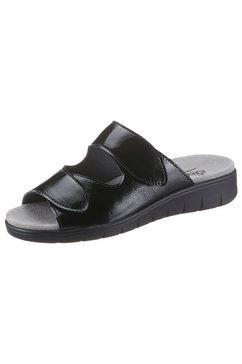 semler slippers dunja in schoenwijdte h (=zeer wijd) zwart