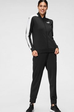 puma trainingspak »baseball tricot suit cl« zwart