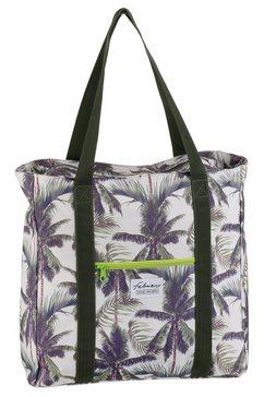 fabrizio strandtas ook als shopper inzetbaar grijs