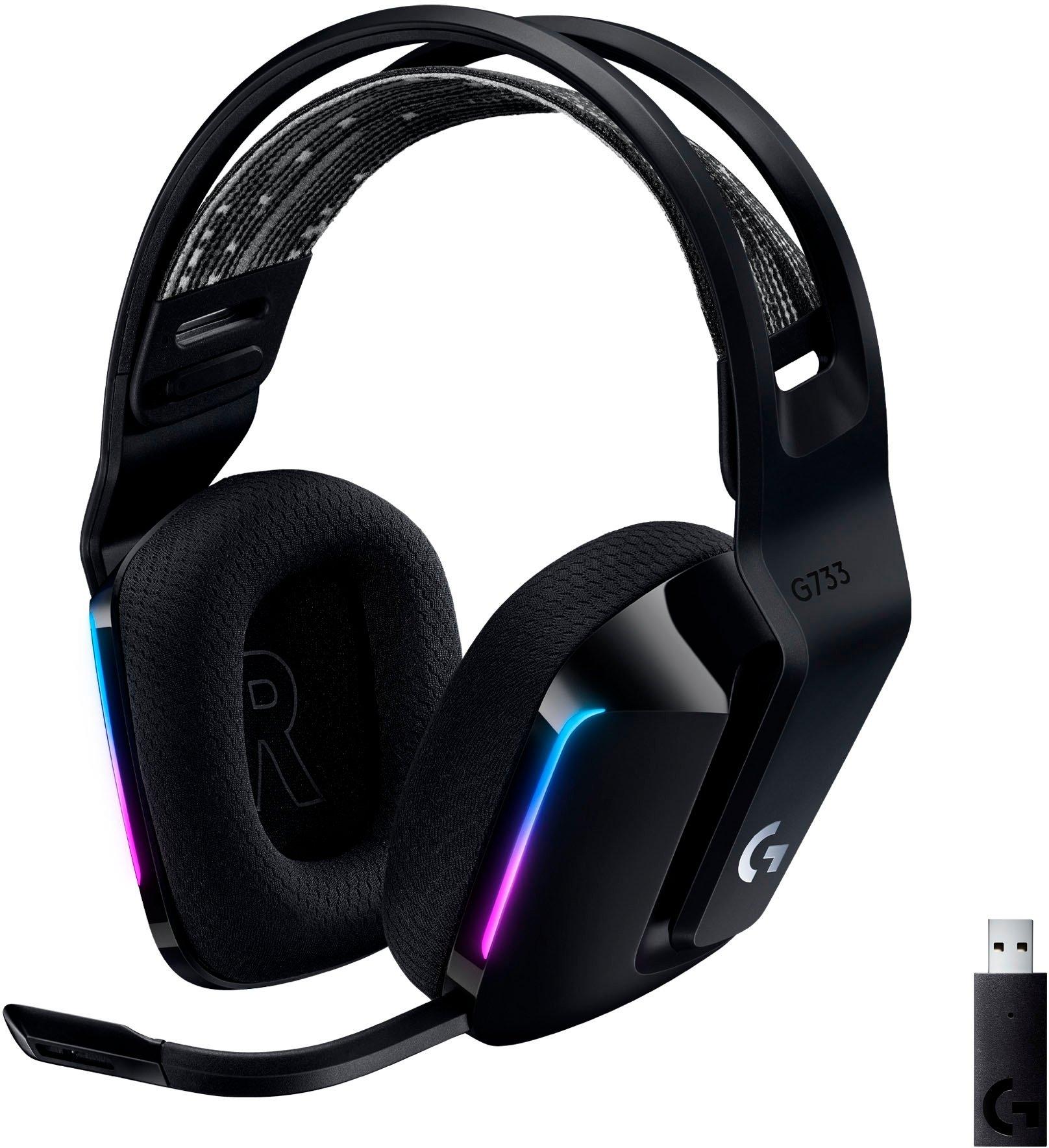 Logitech Games »G733 LIGHTSPEED Wireless RGB« gaming-headset goedkoop op otto.nl kopen