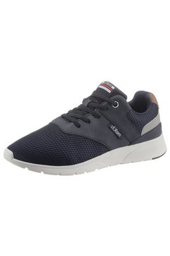 s.oliver slip-on sneakers blauw