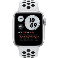 apple »nike series 6 gps, aluminiumgehaeuse mit nike sportarmband 40mm« watch zilver