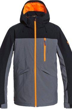 quiksilver ski-jack dawson grijs