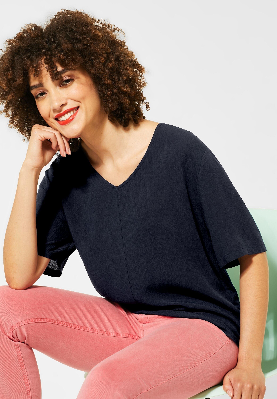 STREET ONE shirt met V-hals online kopen op otto.nl