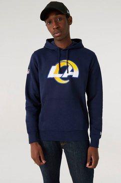 new era hoodie los angeles rams zwart