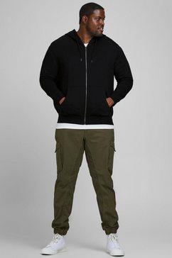 jack  jones capuchonsweatvest »basic sweat zip hood« zwart