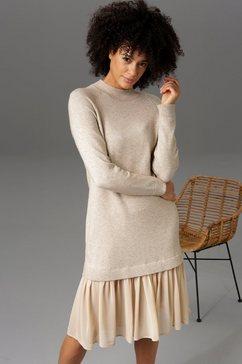 aniston casual tricotjurk beige