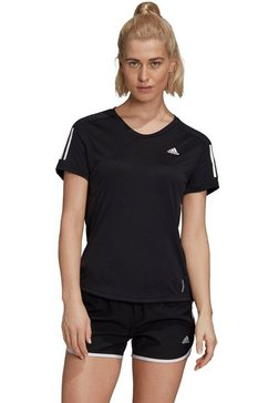 adidas performance runningshirt »own the run tee« zwart