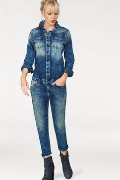 ltb jumpsuit »nancie x« blauw