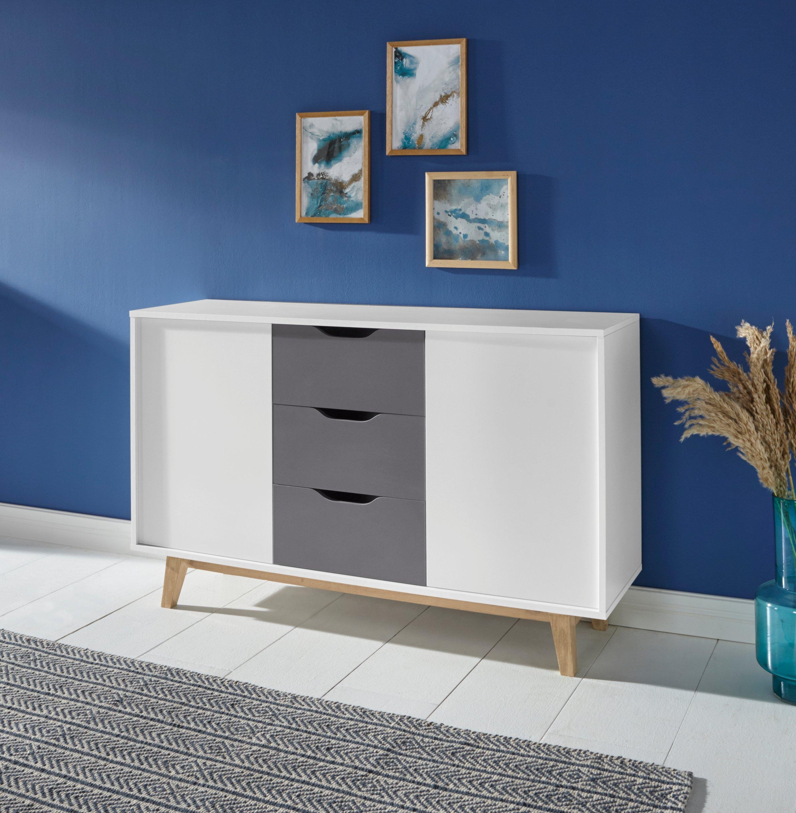 dressoir Meera in 2 verschillende breedten 130 of 173 cm - gratis ruilen op otto.nl