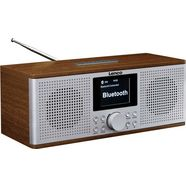 lenco internetradio »dir-170wa« (ukw met rds,digitalradio (dab+), fm-tuner, 20 watt) bruin