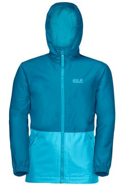 jack wolfskin outdoorjack snowy days jacket kids blauw