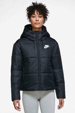 nike sportswear outdoorjack wnsw tf rpl classic tape jacket zwart