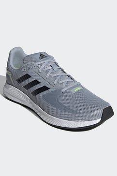 adidas performance runningschoenen »runfalcon 2.0« zilver