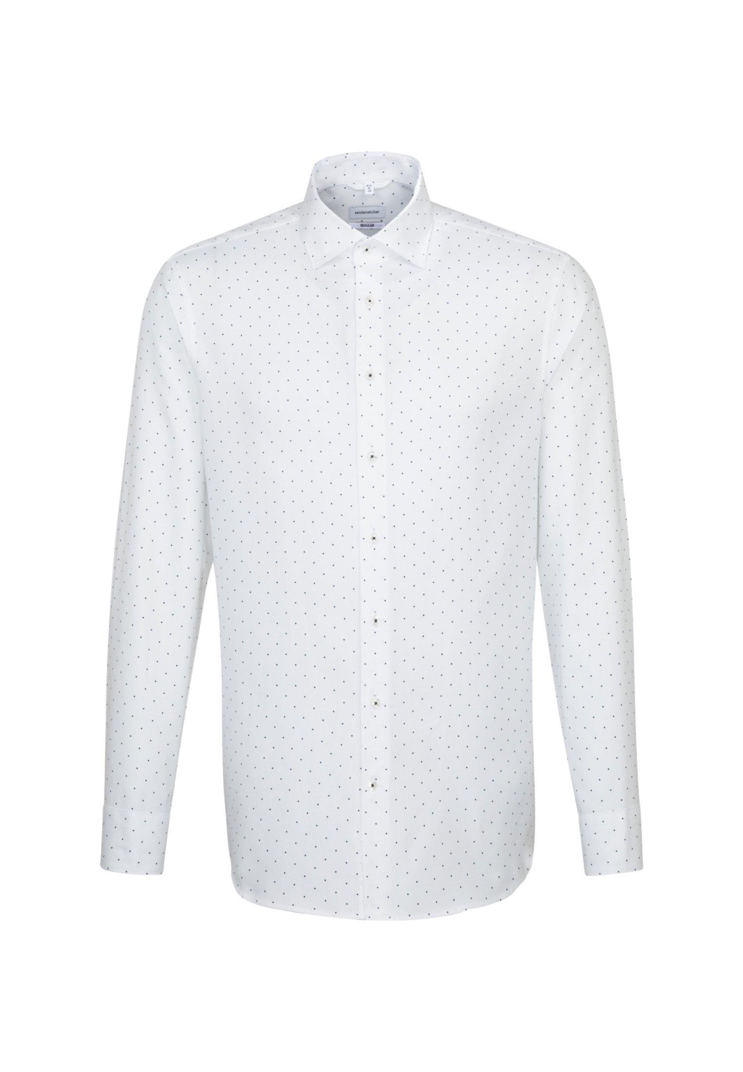 seidensticker Businessoverhemd Regular Regular lange mouwen kentkraag stippen nu online bestellen