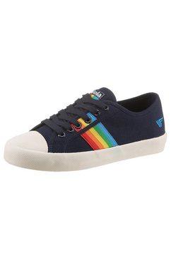 gola classic sneakers coaster rainbow met kleurrijk beleg blauw