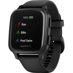 garmin »venu sq music« smartwatch grijs