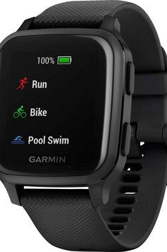 garmin »venu sq music« smartwatch grijs