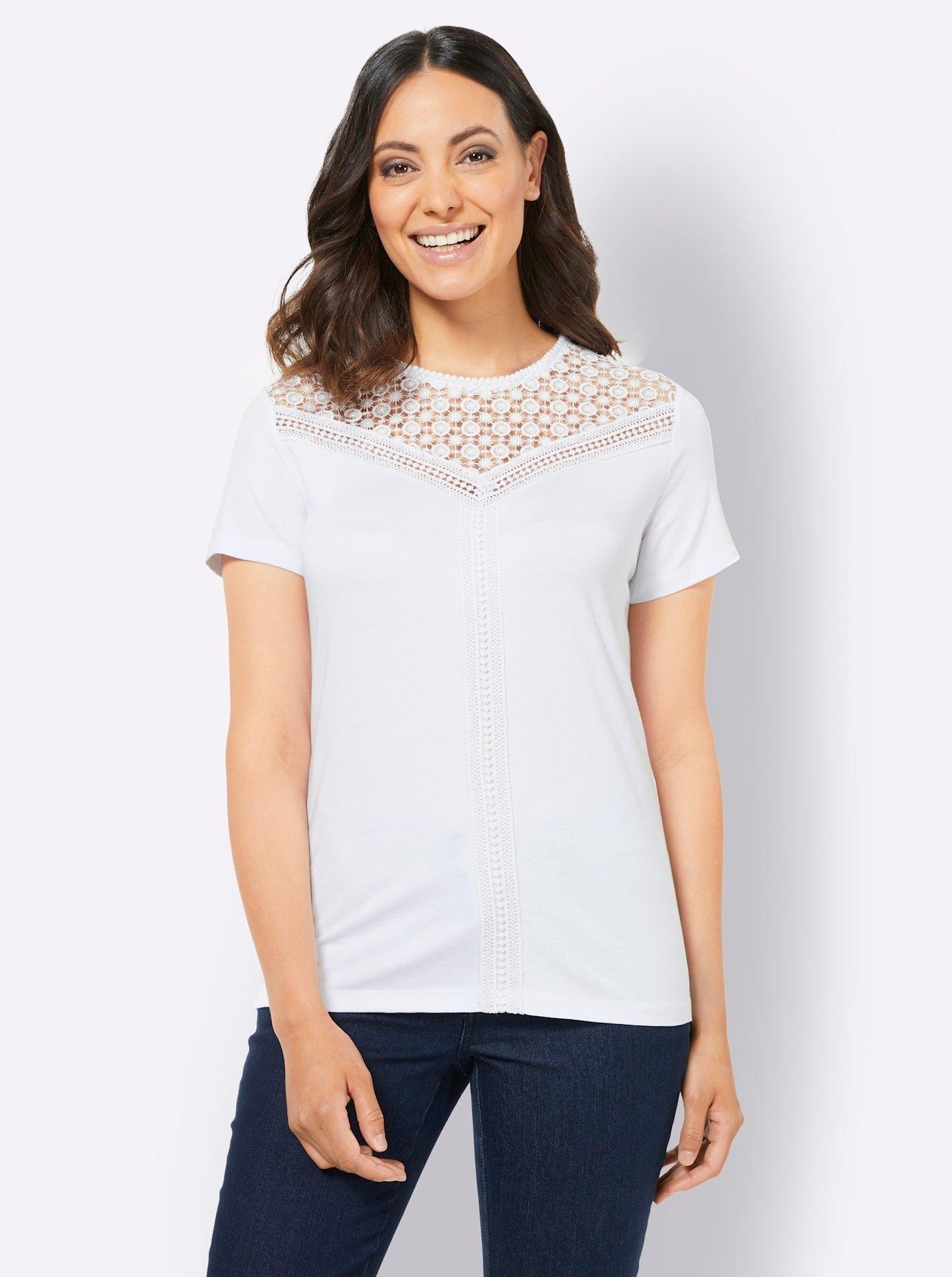 Op zoek naar een Creation L kanten shirt? Koop online bij OTTO