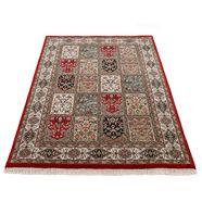woven arts oosters tapijt bakhtiar met de hand geknoopt, woonkamer, zuivere wol rood