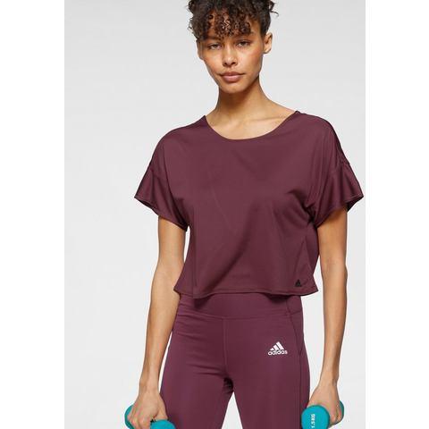 adidas Adidas primeblue sportshirt rood dames dames