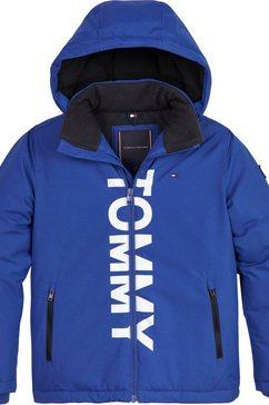 tommy hilfiger winterjack blauw