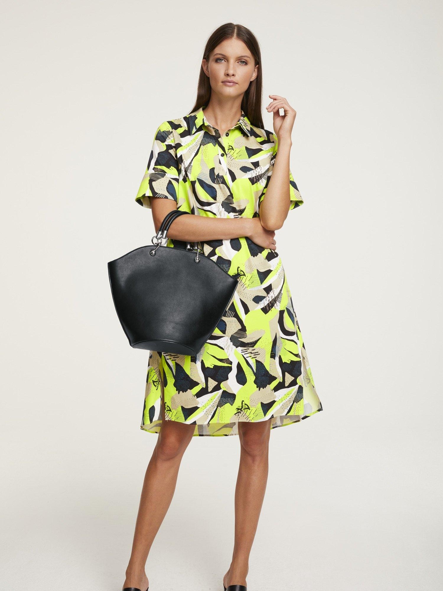 RICK CARDONA by Heine gedessineerde jurk met zijsplitten voordelig en veilig online kopen