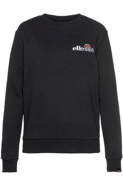 ellesse sweatshirt triome sweatshirt zwart