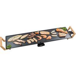bestron »abp604bb« teppanyaki-grill zwart