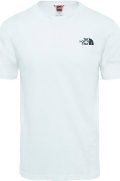 the north face t-shirt wit