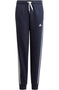 adidas performance joggingbroek »adidas essentials 3-streifen« blauw