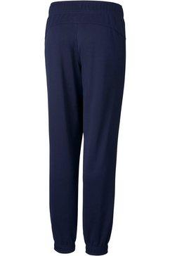 puma trainingsbroek active tricot pants cl b blauw