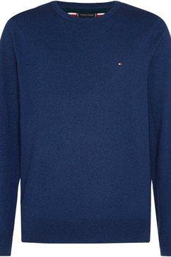 tommy hilfiger trui met ronde hals blauw