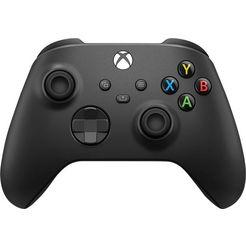 xbox »carbon black« wireless-controller zwart