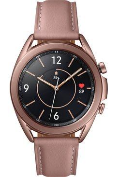 samsung smartwatch galaxy watch 3, edelstaal, 41 mm, bluetooth (sm-r850) bruin